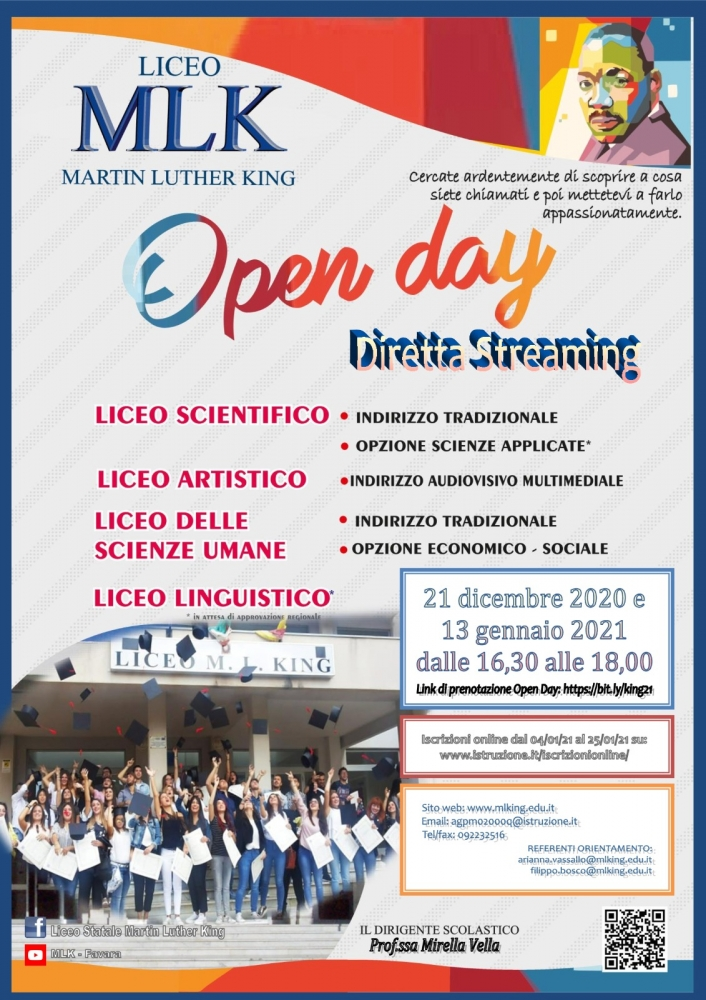 Open Day del Martin Luther King